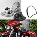 Free Shipping Rearview Fairing Mount Side Mirrors Fit For 2014-Later Harley Davidson Electra Glide Ultra Limited and Tri Glide