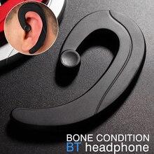 DOITOP ET костной проводимости Беспроводной Bluetooth 4,1 гарнитуры спортивные наушники удобные Ушные крючки костной проводимости BT наушники новый