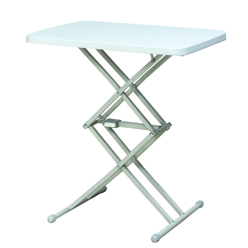Simple Plastic Stall Outdoor Mini Folding Table Eating Meal Small Apartment  Home Lifting Square Table Portable Folding Table