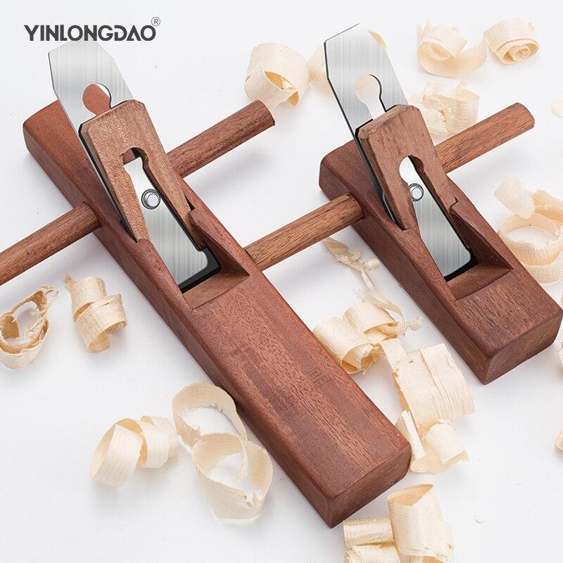 YINLONGDAO Hand Plane Wood Planer Rosewood PlaneFlat Wood Plane Bottom Edged Hand Planer Blades For Carpenter Woodworking Tools|Hand Tool Sets| |  - title=
