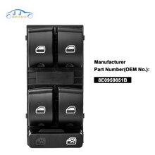 YAOPEI High Quality Power Windows Switch For Audi A4 B6 Audi A4 B7 8E0959851B, 8ED959851, 8E0 959 851 B, 8ED 959 851