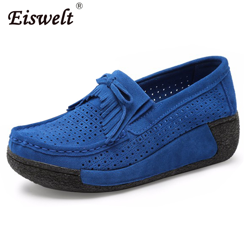 2017 Spring Women Platform Shoes Casual Shoes Women Leather Suede Wedges Flats Rubber Boots For Women Lace-Up Creepers#HDS147 women harajuku cartoon lace up wedges platform shoes 2015 casual shoes trifle thick soled graffiti flat shoes ladies creepers