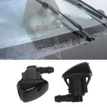 2 шт. Омыватель лобового стекла автомобилей рычаги стеклоочистителя распыления воды насадка подходит для Jeep 2007 2008 2009 2010 2011