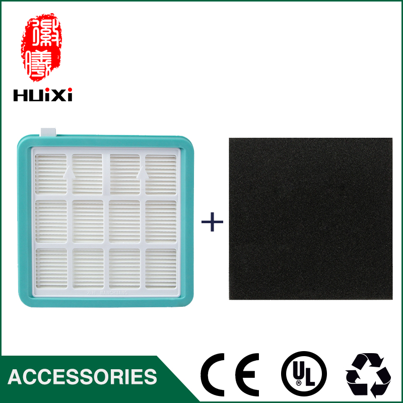 2 pcs blue hepa filter + 4 pcs black filter cotton the original of vacuum cleaner parts air hepa filter D-928  D-929 original ilife v7s primary filter 1 pc and efficient hepa filter 3 pcs of robot vacuum cleaner parts from the factory