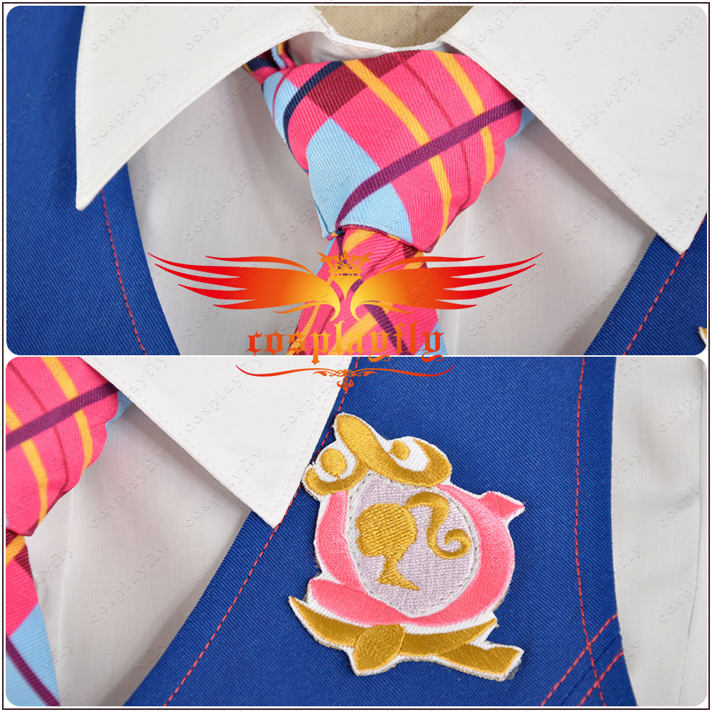 10a7c9cebd2 Princess Charm School Princess Sophia Party Dress Blair Willows School  Uniform Adult Cosplay Costume Clothing Outfit -in Movie   TV costumes from  Novelty ...