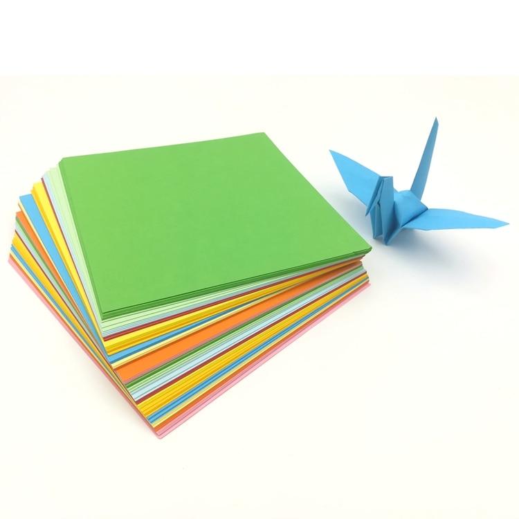 DIY Creative Handmade Color Paper Cheap Floral Pattern DIY Kids Origami Paper Scrapbooking Decoration Paper 15x15cm(China)