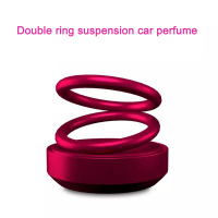Air Freshener Car Smell Mini Perfume Clip Fresh Aromatherapy Fragrance Personality Rotating aroma Alloy Auto Good Accessories