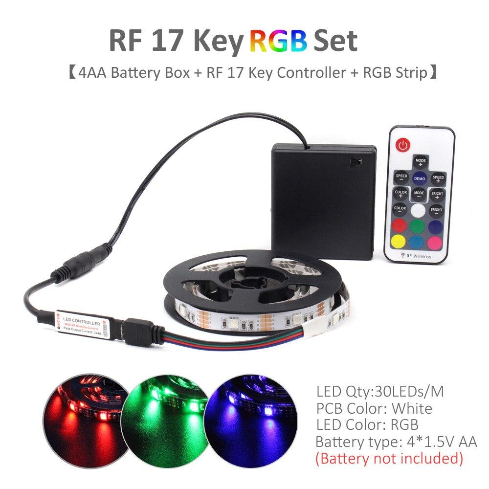 RF 17 Key RGB Set