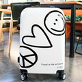 """22""""24inch Fashion Brand ABS+PC Luggage Universal Wheels Rolling  Luggage Travel Suitcase"""