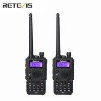 2X Retevis RT5 Walkie Talkie Large Capacity (High/Medium/Low) Portable Radio Transceiver Dual Band Amateur 2 Way Radio Moscow