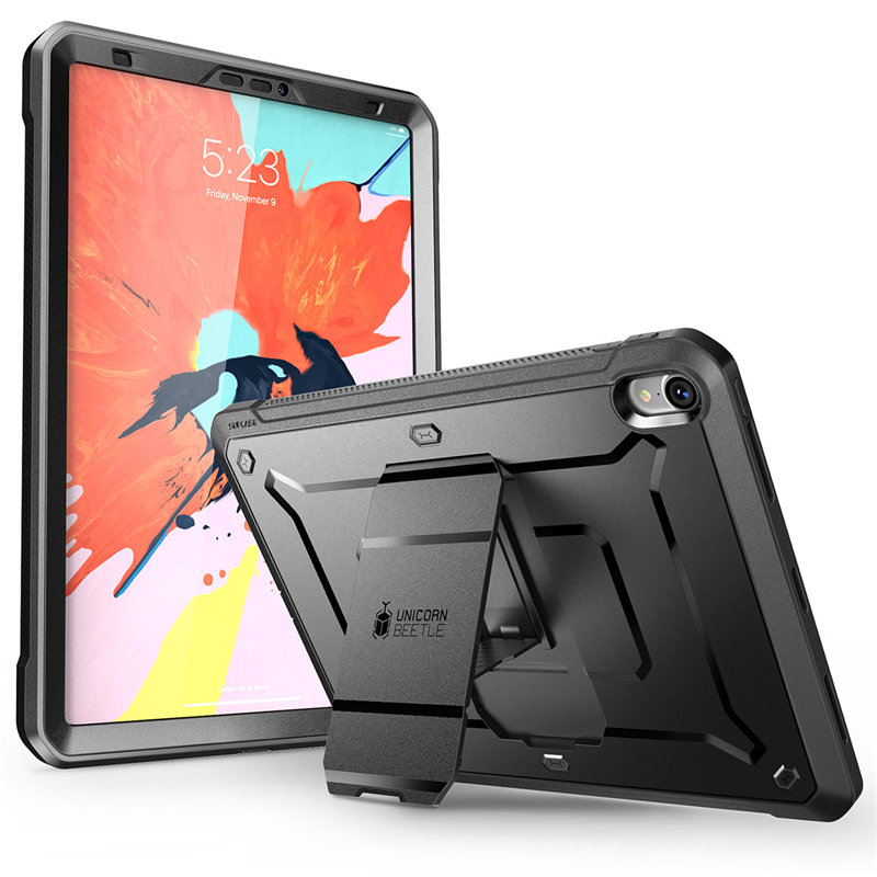 SUPCASE For iPad Pro 11 Case UB PRO Full-body Rugged Cover with Built-in Screen Protector&Kickstand,Not Compatible Apple Pencil