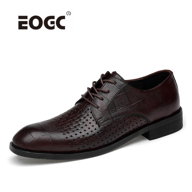 Vintage mesh men oxford shoes genuine leather lace up British style fashion men business shoes pointed toe Oxfords shoes все цены