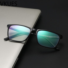 VKUES Blue Light Glasses Computer Al-Mg Temple Anti Ray Blocking Screen Radiation Transparent Decorative