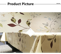 Pastoral Style Wedding Tablecloth Floral Waterproof Covers for Table Home Party Table Cloths 1.37m x 5m High Quality