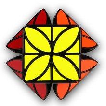 QiYi Mofangge кубик рубик Clover 3x3x3 магический куб плюс версия странная форма магический куб Qiyi Cube Puzzle твист Кубики Игрушки для детей кубик рубика