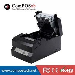 9-Pins Seriële Impact Dot-Matrix Printing/76Mm Papier Dot-Matrix Printer/76Mm impact Dot-Matrix Printer (Usb + Lan + Ethernet)