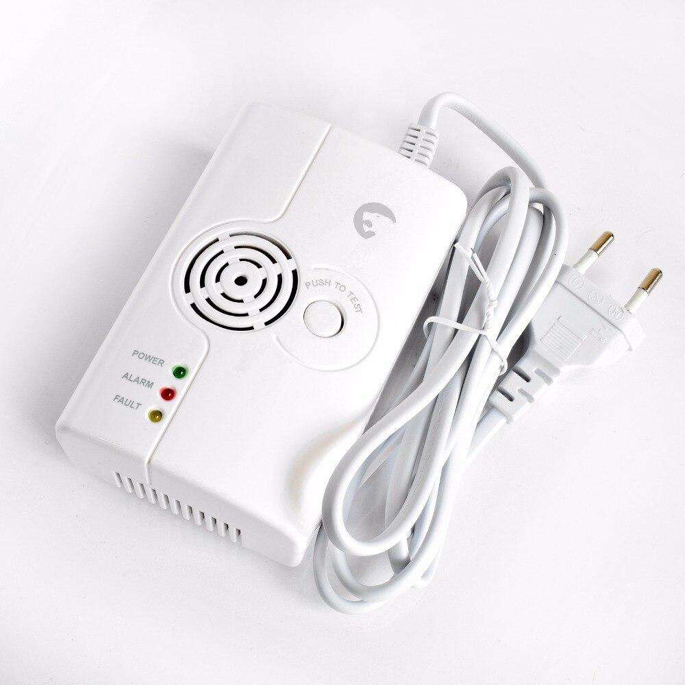 ALARMEST 433 MHZ Wireless Gas Detektor Unabhängige Oder arbeit Für Home Security Alarm System Wireless Gas Detektor