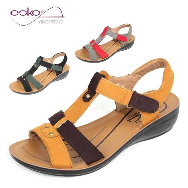 les cuir bovins à coins esko opérer des sandales en cuir les pour femmes 05a693