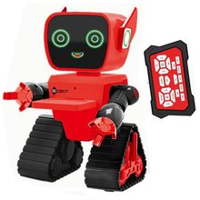 Cute RC Intelligent Robot Toy Voice Activated Interactive Recording Sing Dance Storytelling RC Robot Toy Kids Gift Green стоимость
