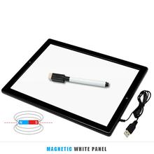 Best Buy Cewaal LCD Large Screen Children tablet Drawing Pad Writing Board LED Light Painting Children Ultra Thin LCD Screen