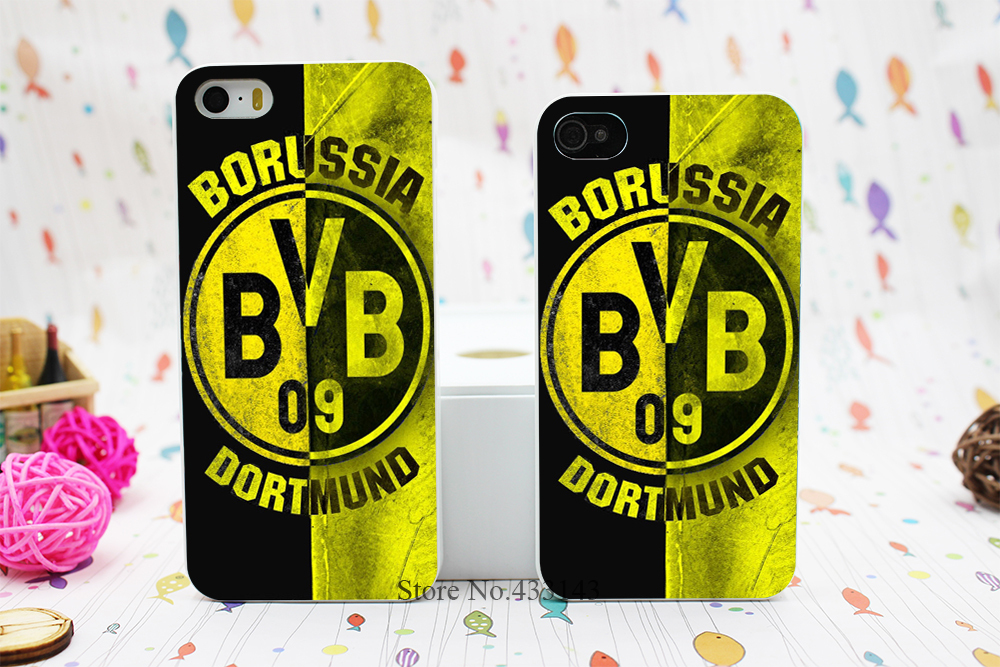 Borussia Dortmund BVB Style Hard White Skin Case Cover iPhone 5 5s 5g - Shenzhen ZhuoYou Technology Co.,LTD store