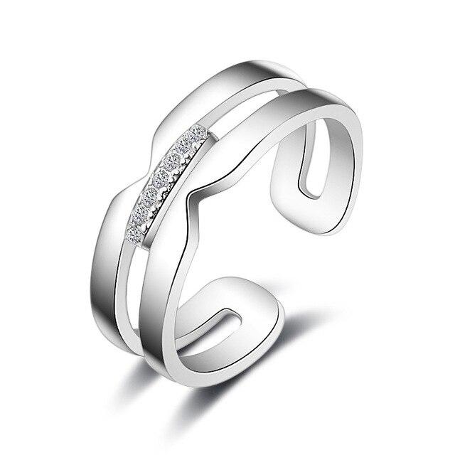 299671b3bd413b Nowe mody osobowości wysokiej jakości kreatywne luksusowych pań  ekstrawaganckie kryształ pierścionek zaręczynowy biżuteria prezent
