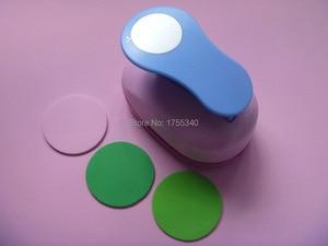 Image 4 - free shipping 1pc 50mm circle eva foam punch craft punch troqueladora de papel Kids scrapbook paper cutter scrapbooking punches