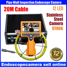 20M cctv pipe VIDEO inspection camera system,pipe sewer inspection camera system