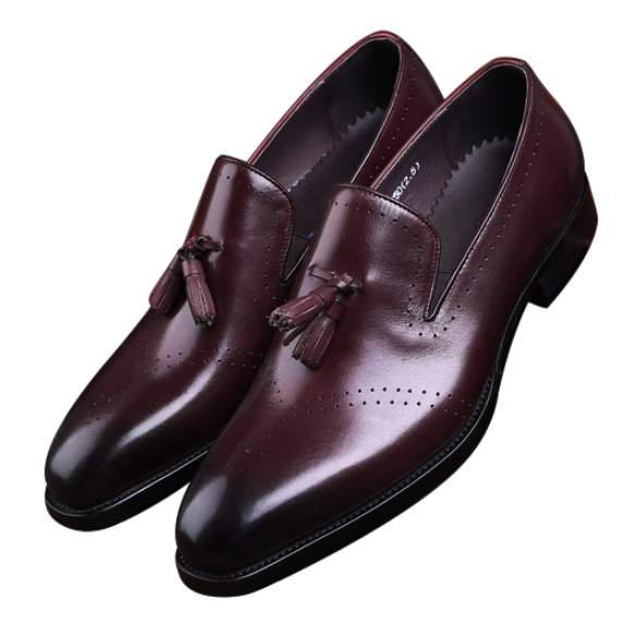 Brown Casual Business Shoes Mens Dress