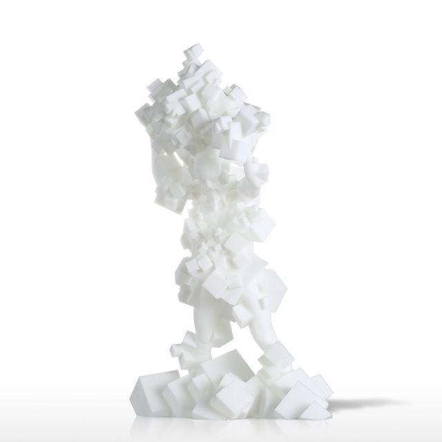 Tooarts Chaos Cube 3D Gedruckt Skulptur Artesanato Escultura