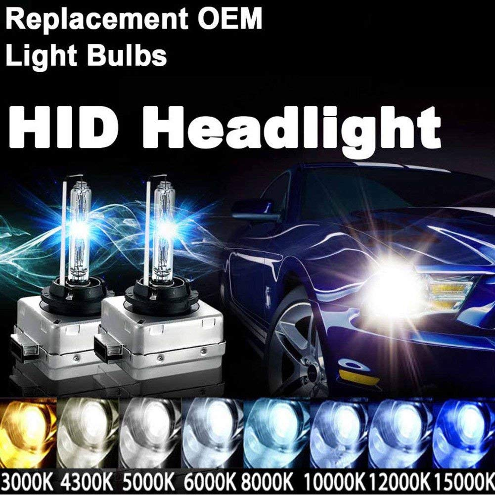 1 pair D3S xenon HID bulb 12V 35W d3s Xenon lamp for car headlight replacement light D3S D3C 4300k 5000K 6000k 8000k 10000k in Car Headlight Bulbs Xenon from Automobiles Motorcycles