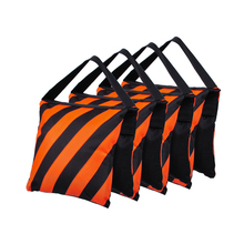 52m * 25cm Photography balanced sandbags versatile dual color bar double zipper fabric of Oxford Load-bearing 3kg 1pc