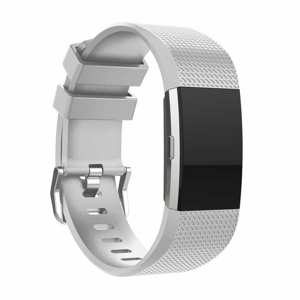 Силиконовый ремешок для наручных часов для Fitbit Charge 2 ремешок Смарт-часы браслет Спортивный Браслет для Fitbit Charge2 Band Correa
