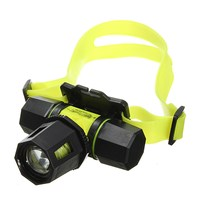 Elfeland Waterproof 2000lm 2 modes T6 led Diving Headlight underwater 80m dive headlamp aaa dive head torch+18650 battery