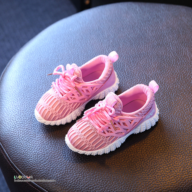 New Arrival Super Cool Air Mesh Breathable Children Running Shoes hot Soft Light Comfort Kids Boys Sneakers Sports Shoes