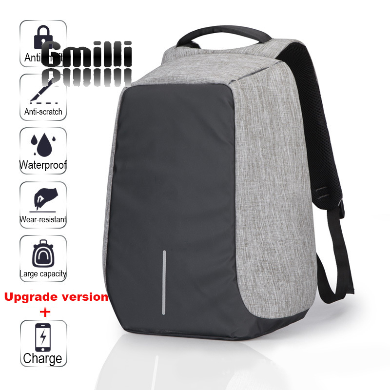 Gmilli Fesyen 15 inci Laptop Luaran USB Caj Beg Komputer - Aksesori komputer riba