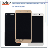 100 NEW For Huawei Y6II Compact LYO L01 LYO L21 LCD Display 5 0 Touch Screen