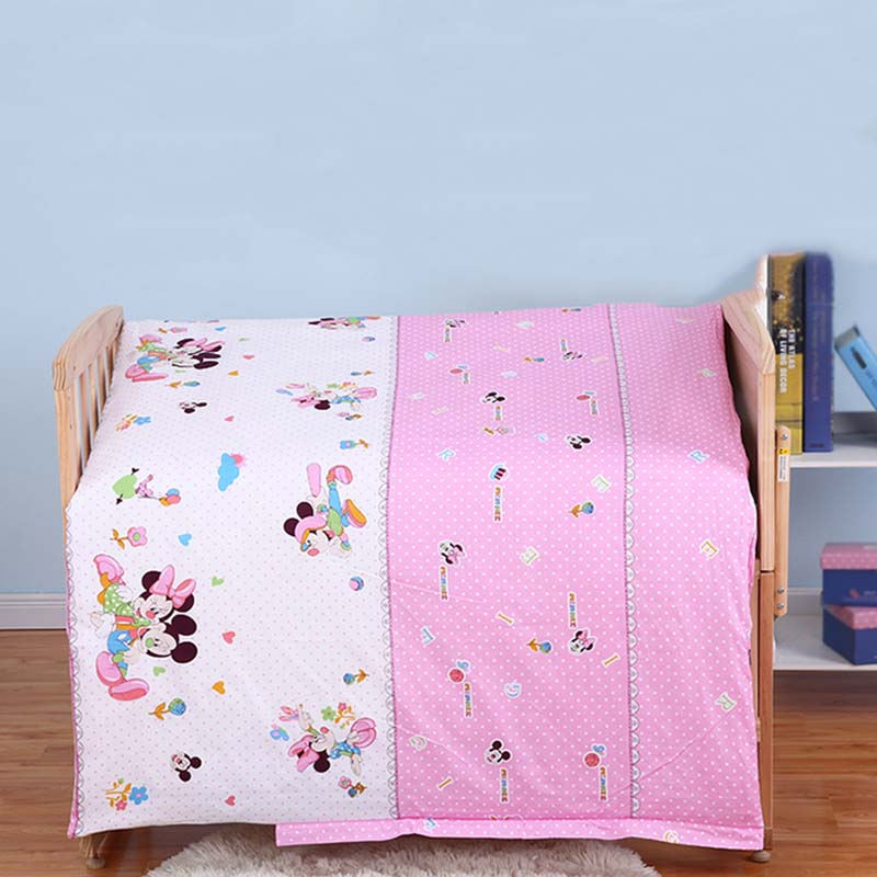 120*100cm Full Cotton Children's Quilt Kids Crib Quilt Cover Baby Sleeping Bag Winter Envelope For Newborns Sleep Sack Bedspread