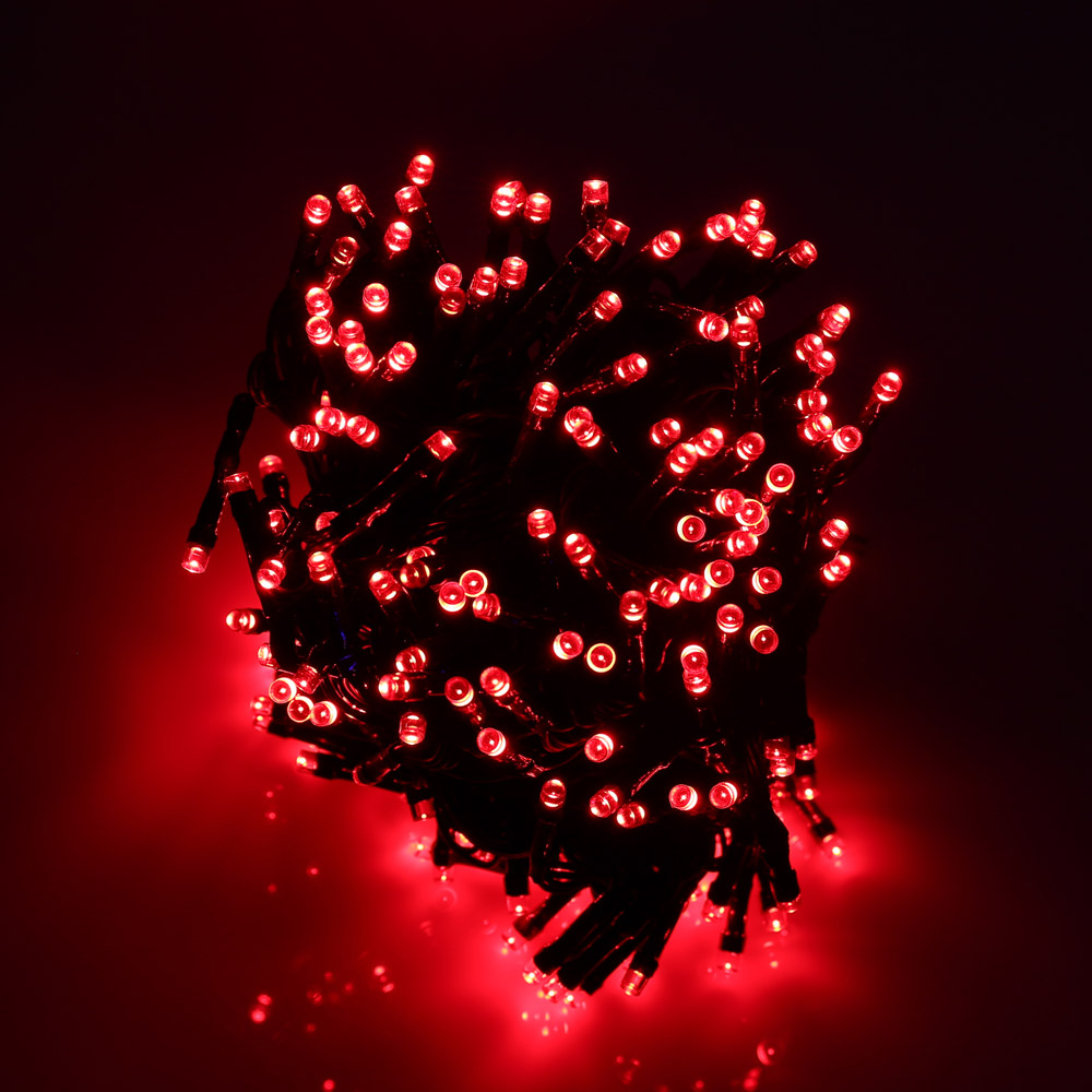 Chirstmas Lights Outdoor 22M 200 LED Solar String Fairy Lights Party Decoration Lamp For Garden LED Strip Light