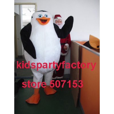 summer hot sale New Adult Madagascar penguin mascot costume with suits font b shoes b font