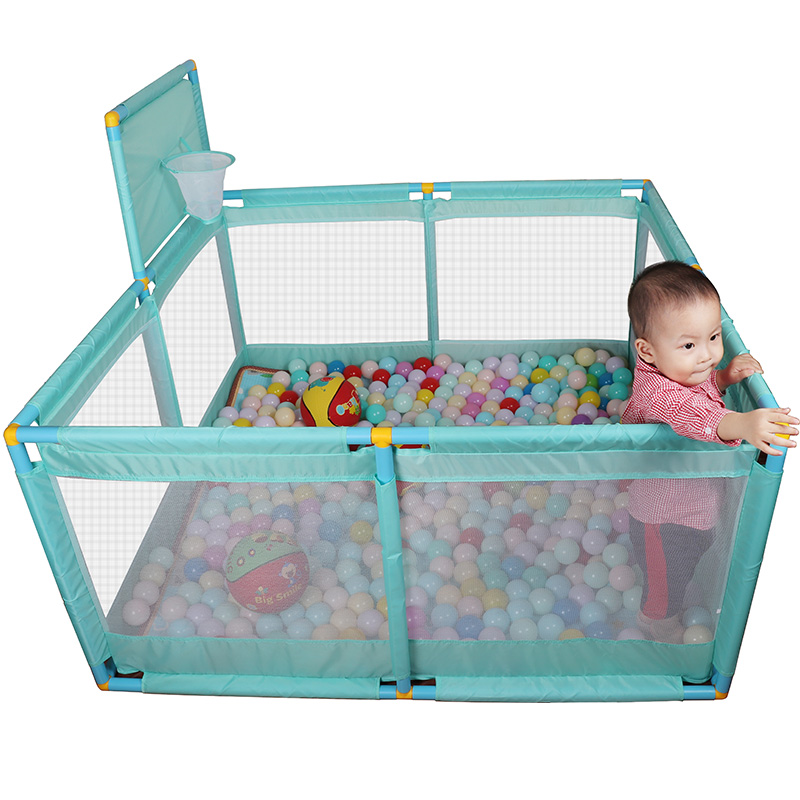 Baby Activity Playpen Toddler Game Fence Child Activity Center Entertainers Indoor Game Fence Playhouse Play Yards Safety Fence image