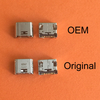 500 1000PCS Micro 7pin USB Connector For Samsung Galaxy I9082 I879 I8552 I869 Tab 3 Lite