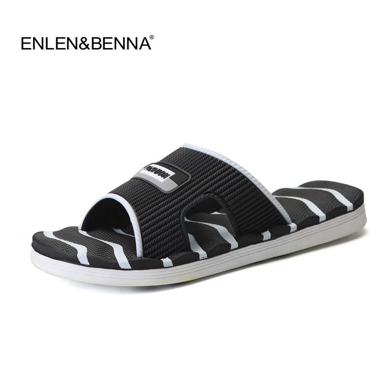 65bfefa44eb140 ... Mens Slippers Flip Flops Summer Men s New Style Rubber Soft Shoes  Outdoor Beach Sandals Men s Slippers ...