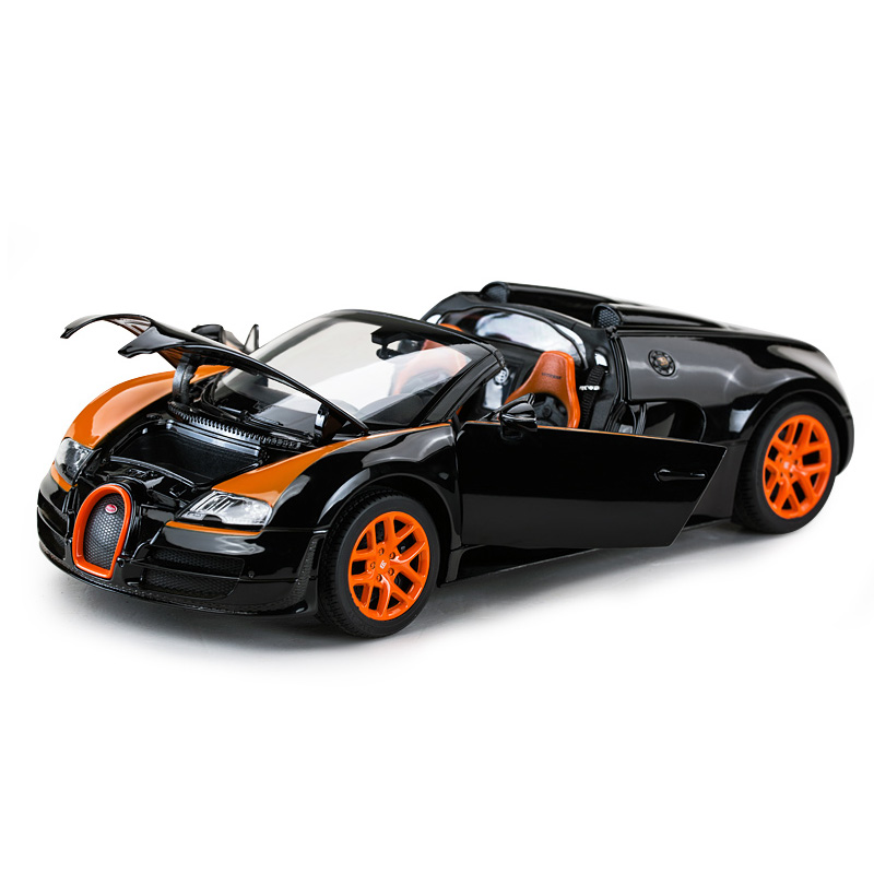 1:18 Car for Bugatti Vitesse Veyron Static State Alloy Diecast Model Luxury High-end Sports Car Toy Boy Adult Collectible Gifts