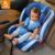 Babysing lujo de coche de bebé asiento para niños asiento de seguridad adecuado para 9 m a 12 y, gris, rosa, púrpura, M1 azul