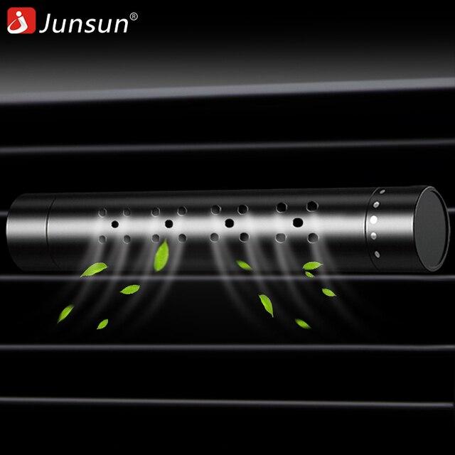 Junsun автомобильный освежитель воздуха Авто на выходе Духи вентиляторный освежитель воздуха автомобиль Стайлинг воздуха клипса кондиционирования магнит диффузор твердые духи