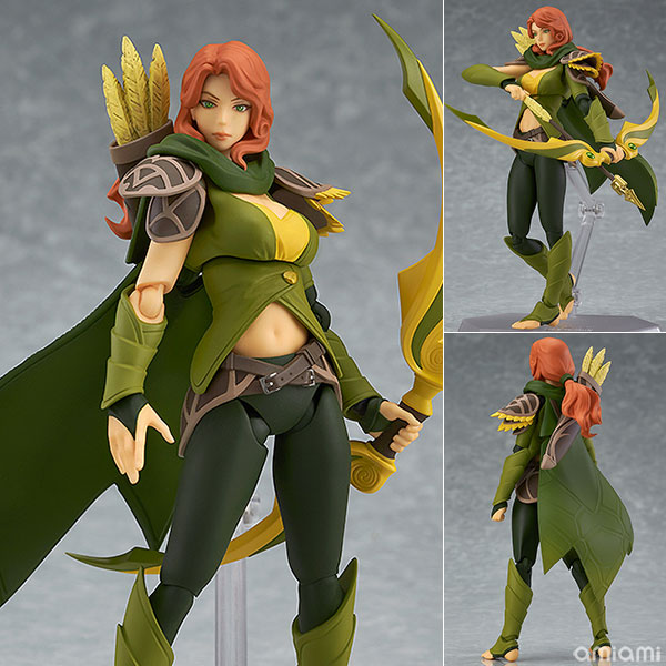 DOTA 2 Figma SP-070 Windranger PVC Action Figure Collectible Model Toy