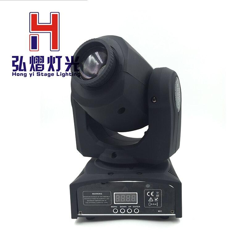 LED Inno Pocket Spot Mini Moving Head Light 30W DMX dj 8 gobos effect stage lights цены онлайн