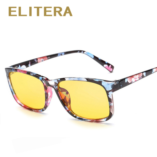 504a321cb44 ELITERA Computer Goggles Reading Glasses Radiation-resistant Glasses Frame  Gaming Eyewear Men Anti Glare Anti