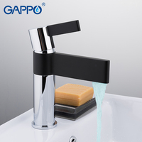 GAPPO Basin Faucet basin mixer tap waterfall bathroom black mixer bath mixer Deck Mounted Faucets taps
